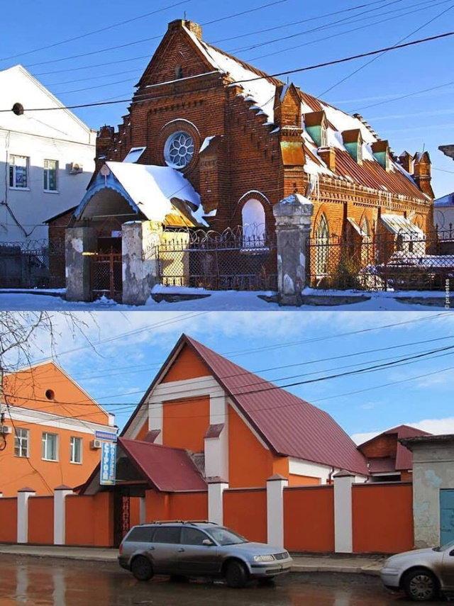 Restauraciones Desastrosas Un proyecto de restauración muy desafortunado en algún lugar de Rusia