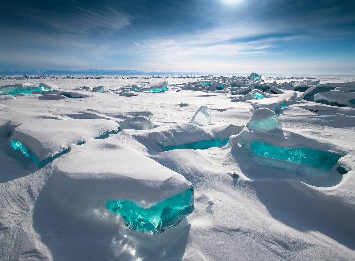 """Concurso Fotografía Clima Extremo  Favorito del público: """"Tesoro de Baikal"""" de Alexey Trofimov"""
