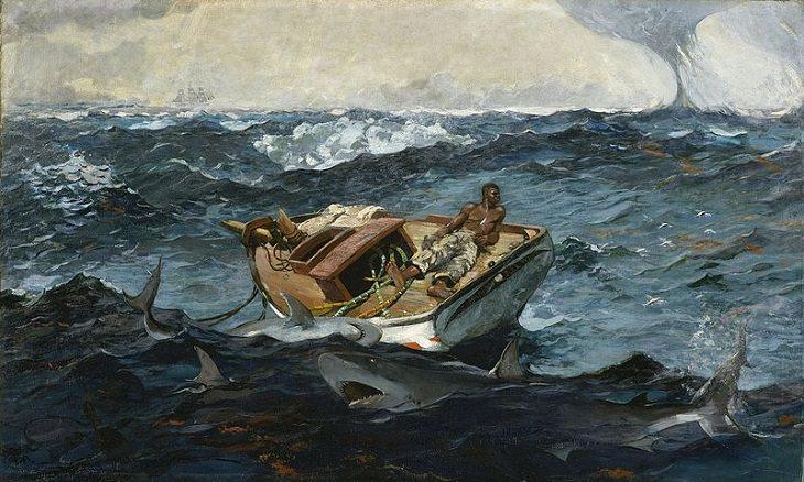Pinturas marinas La Corriente del Golfo