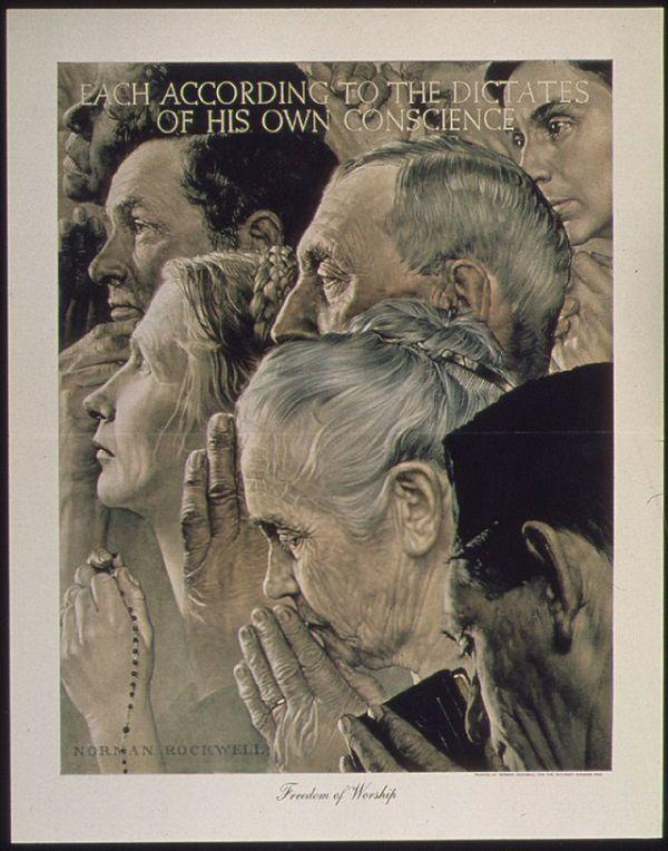 2. Libertad de culto, 1941 a 1945