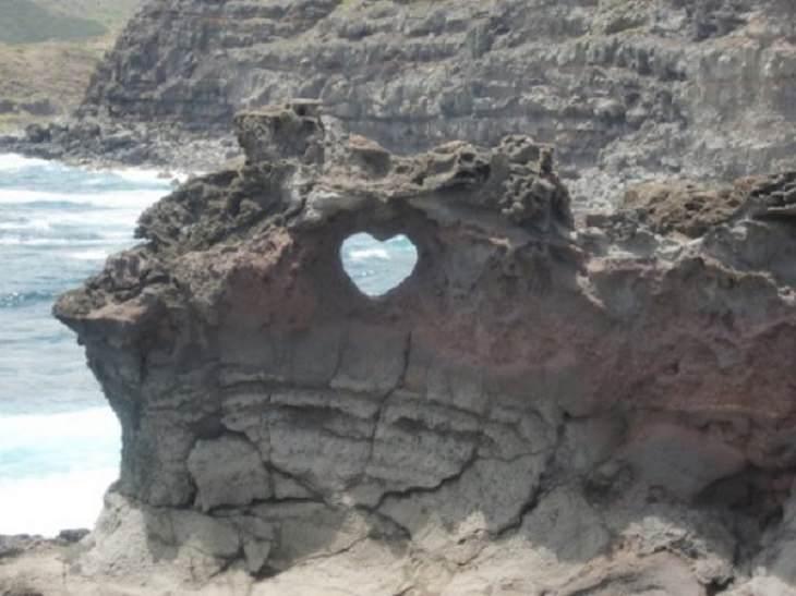 1. Un corazón en el paisaje natural
