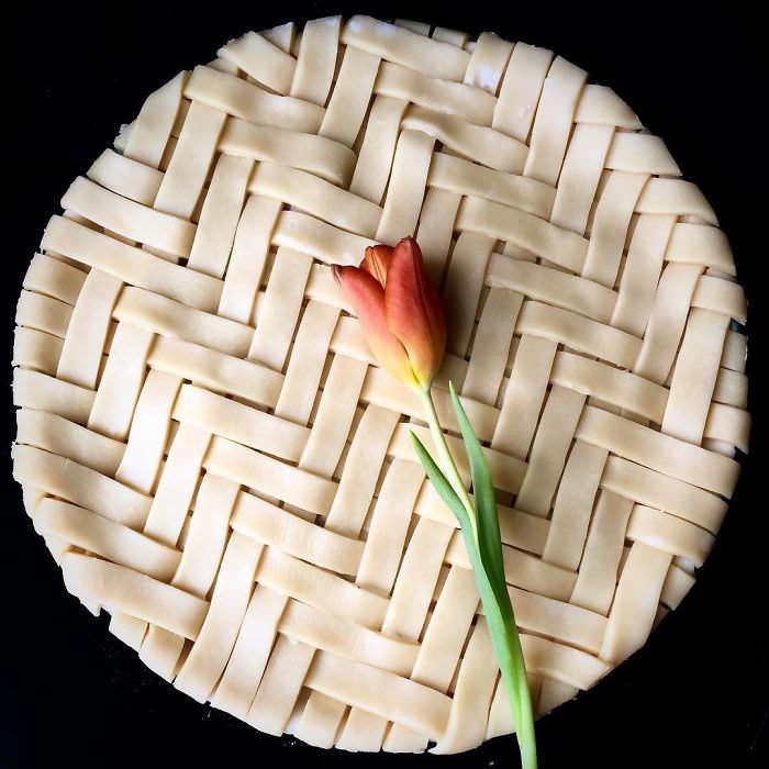 20 Hermosos y Deliciosos Diseños De Tartas De Lauren Ko tarta tulipán