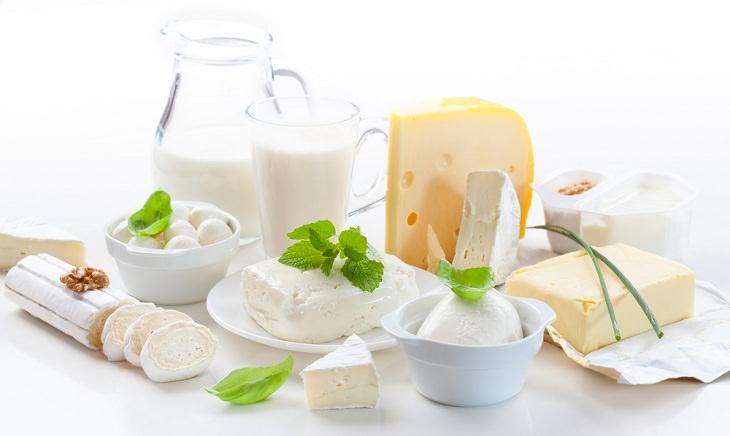 2. Productos lácteos