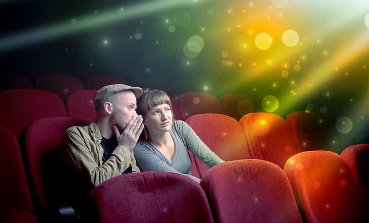 Chiste: Unos Novios En El Cine