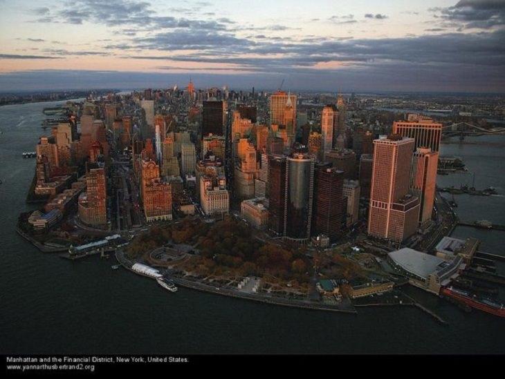 Fotos De Nueva York Desde Las Alturas Manhattan y el distrito financiero