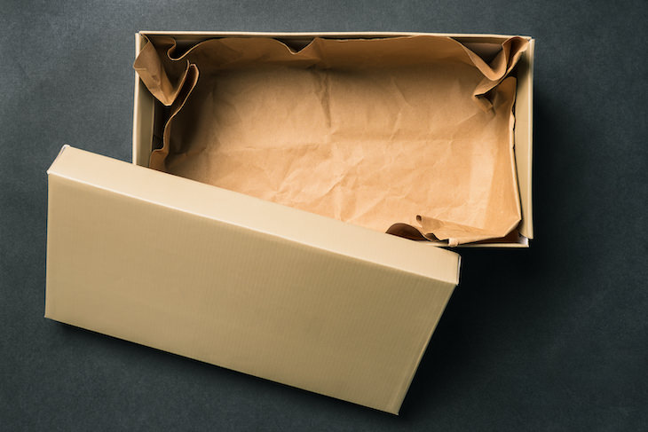 1. Cajas de zapatos