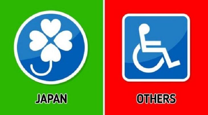 Inovaciones Japonesas calcomanías de automóviles para discapacitados