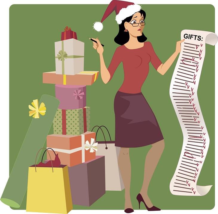 Trucos para ahorrar dinero en las compras navideñas Realiza un presupuesto y una lista