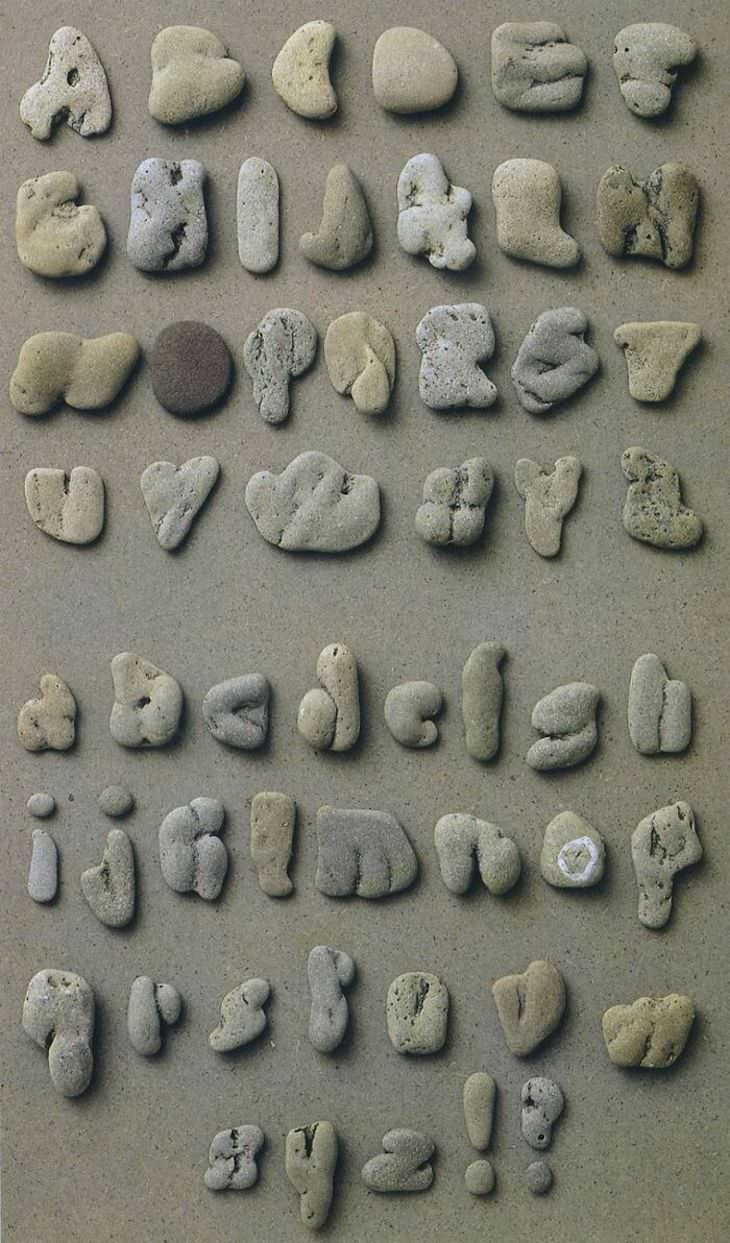 Imágenes Colecciones Asombrosas piedras recolectadas en la playa