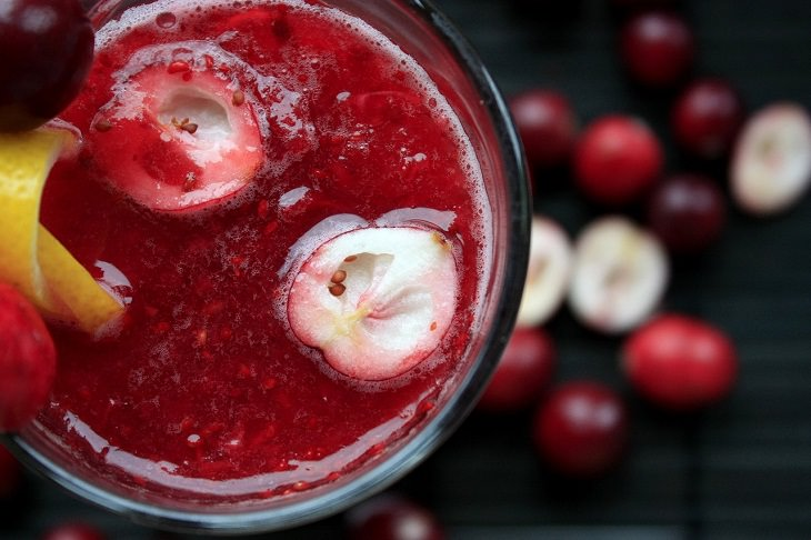 Easy and common drinks for longer life, Cranberry Juice