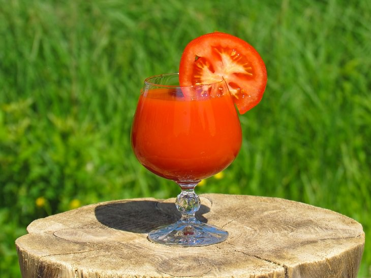 1. Jugo de tomate