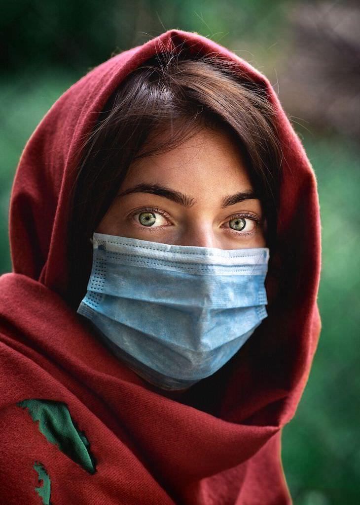 1. Niña afgana en 2020