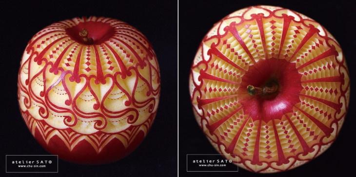 Obras de arte de Tomoko Sato manzana