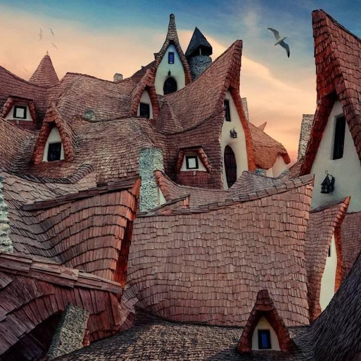 1. Castillo de arcilla del Valle de las Hadas, Transilvania, Rumania