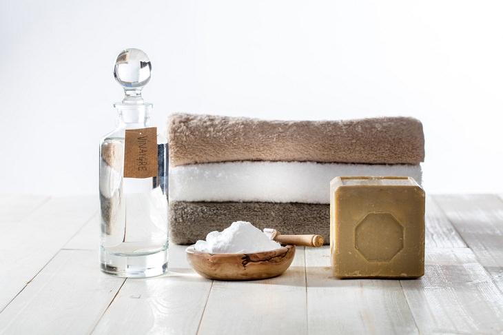 Consejos Para Lavar Tus Toallas Agrega bicarbonato de sodio