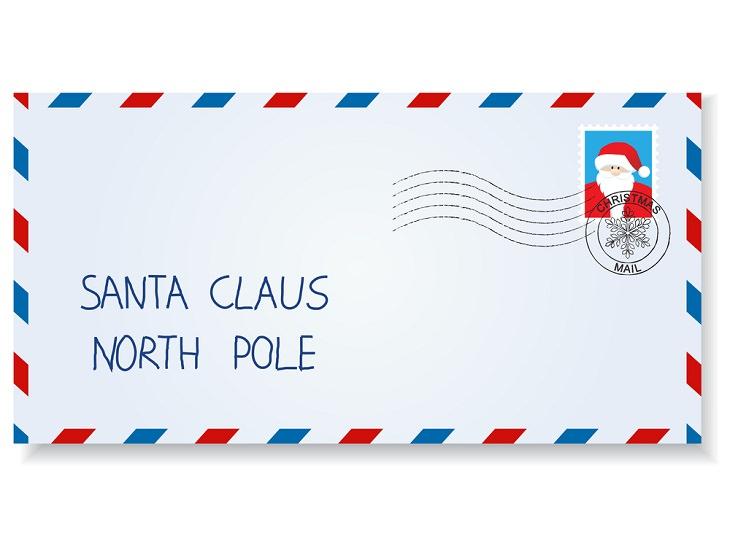 2. Voluntarios en Canadá responden a cartas a Santa de todo el mundo.