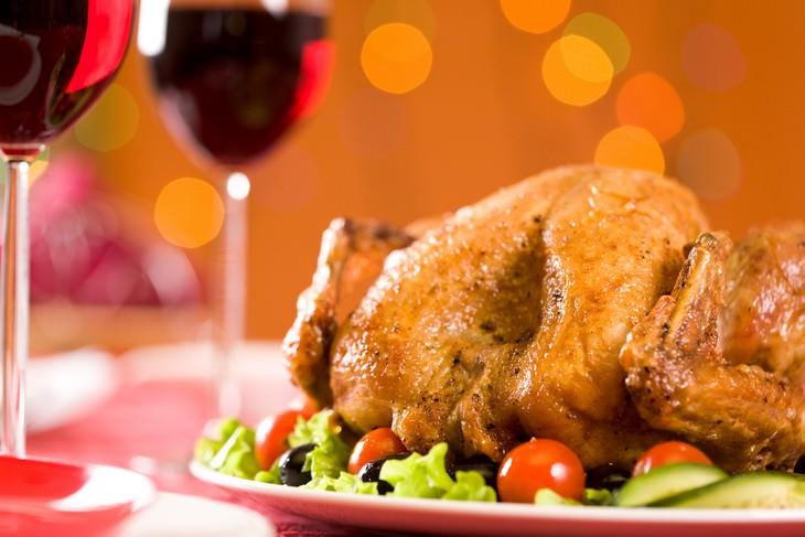2. Pavo y pollo
