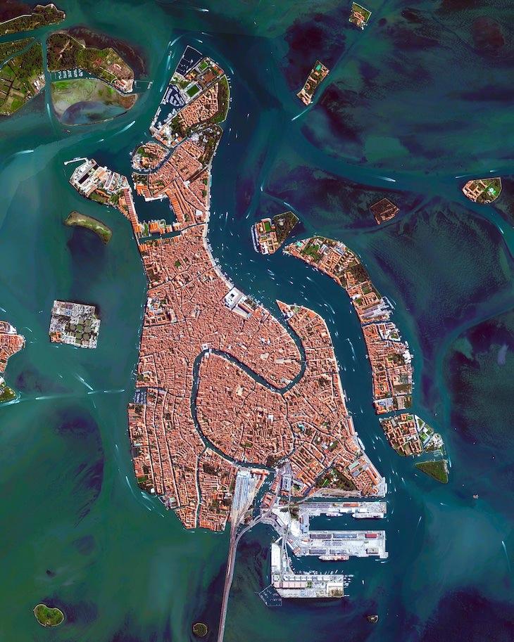 Fotos Aéreas De Sitios Patrimonio De La Humanidad Venecia Italia
