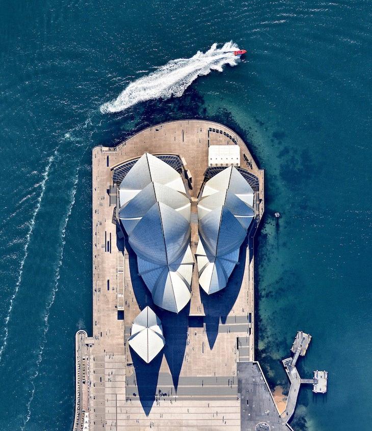 Fotos Aéreas De Sitios Patrimonio De La Humanidad Casa De La Ópera De Sídney