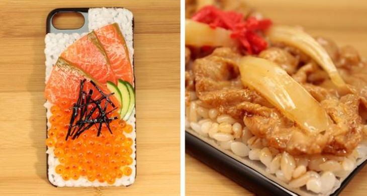2. Una funda para smartphone que parece comida real