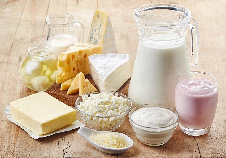 Alimentos a Evitar En El Invierno Productos lácteos