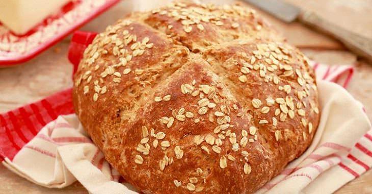 Receta pan de molde irlandés
