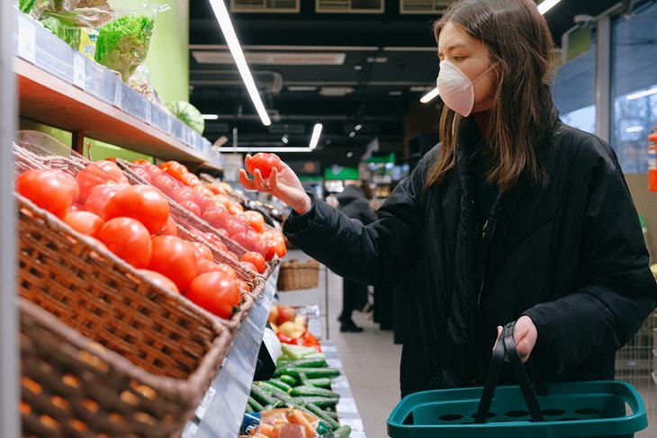 ¿Qué tan arriesgado es comprar en la tienda? coronavirus