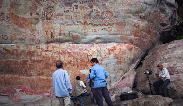 Pinturas Rupestres Encontradas En El Amazonas Turistas