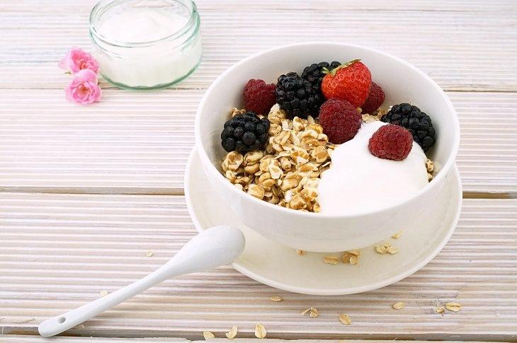 3. Cereales y avena enriquecidos ricos en vitamina D