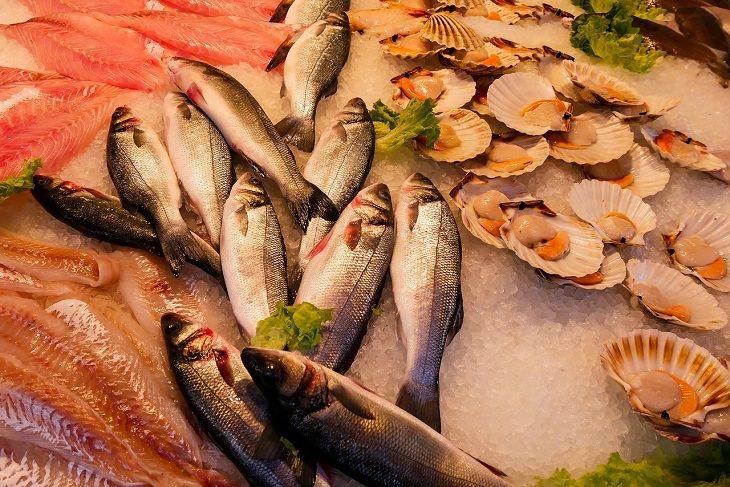 6. Pescado rico en vitamina D