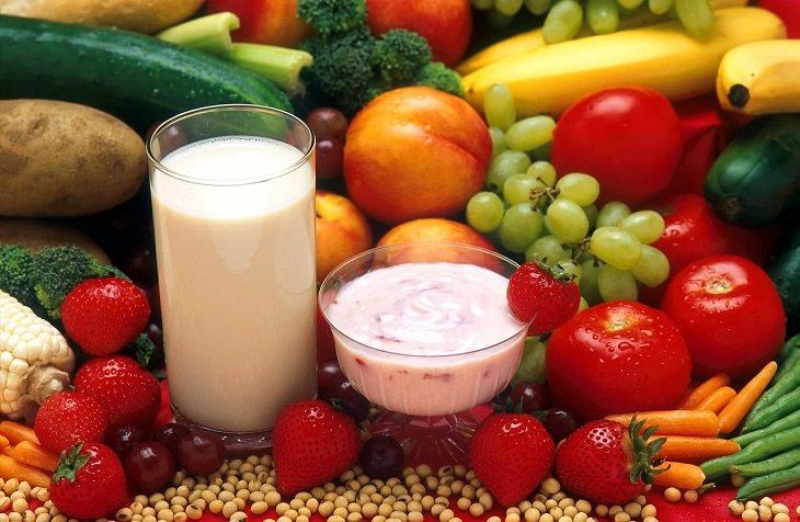 2. Lácteos fortificados y jugo de naranja ricos en vitamina D