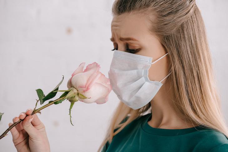 2. Perdiste el sentido del olfato y el gusto en algún momento
