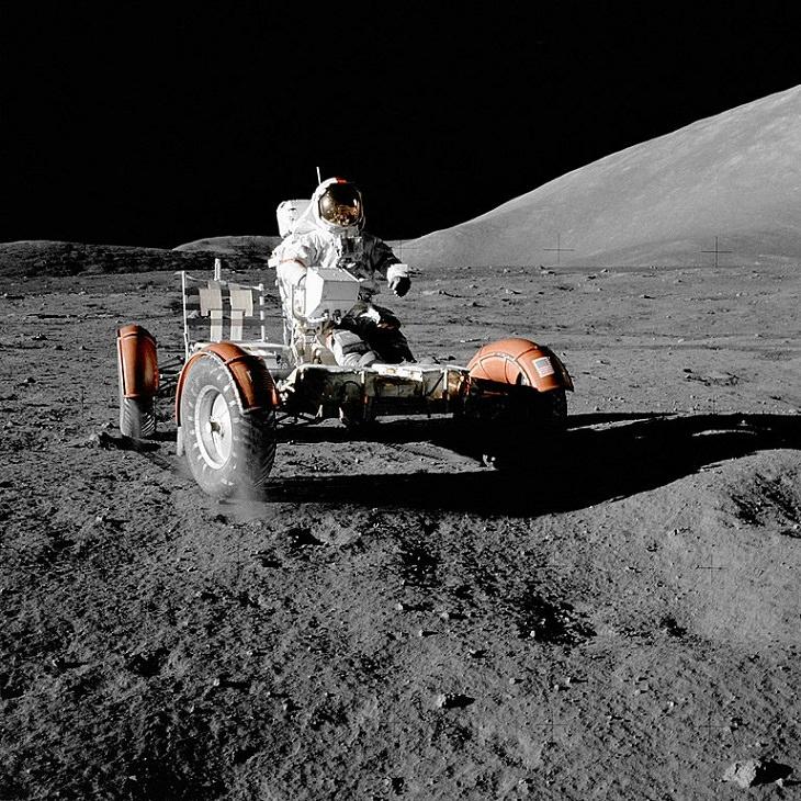 Hombres Que Pisaron La Luna  Eugene Cernan