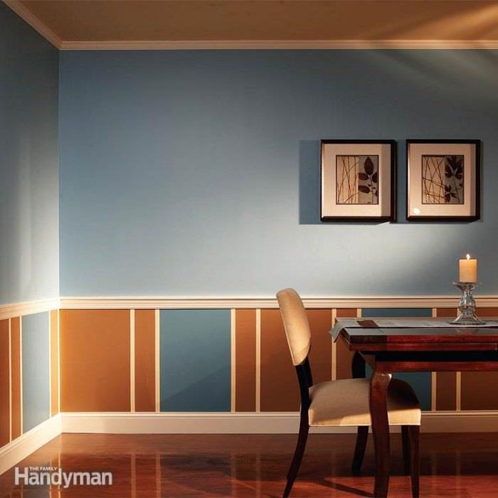 Remodelación con molduras y pintura - $ 380