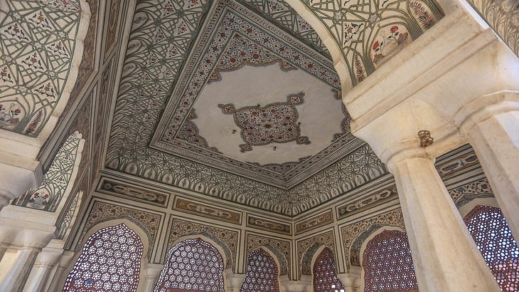 Jaipur: Hawa Mahal interior