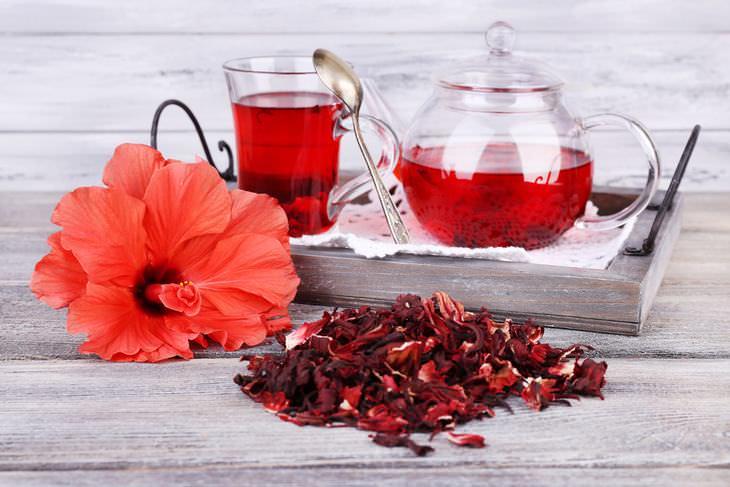 Té de Hibisco, Beneficios y como prepararlo