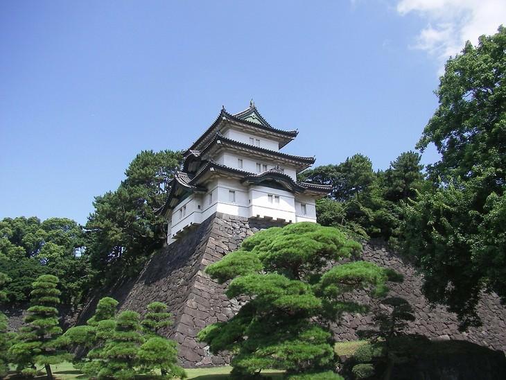 Magníficas Residencias Reales Palacio Imperial de Tokio, Japón