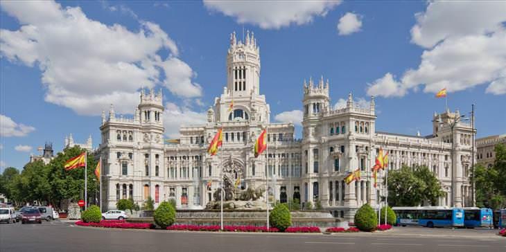 Lugares Turísticos En Madrid Plaza de Cibeles