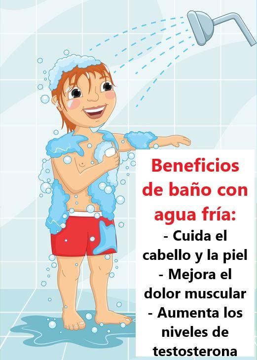 Beneficios De Bañarse Con Agua Fría mejora el metabolismo