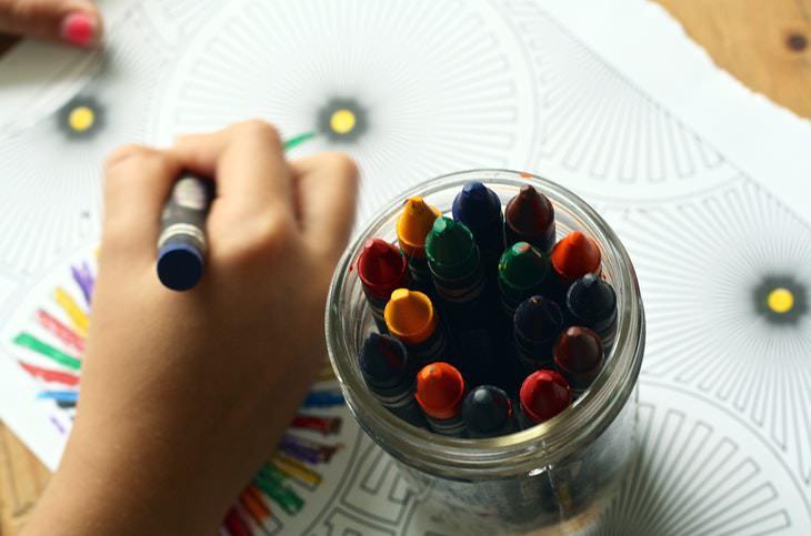Los colores son capaces de provocar recuerdos de la infancia