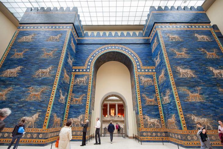 Recorridos virtuales de museos Museo de Pérgamo Berlín