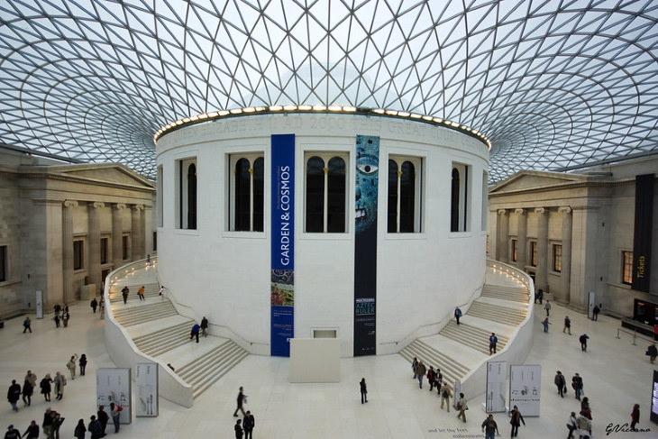 Recorridos virtuales de museos Museo Británico