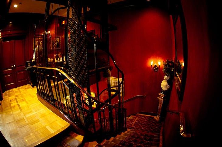 sitios secretos en destinos turísticos club 33 de Disneyland