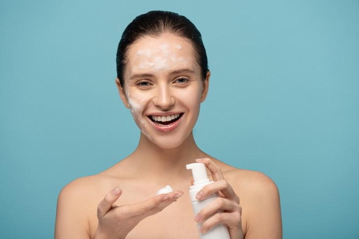2. Limpieza de tu cara