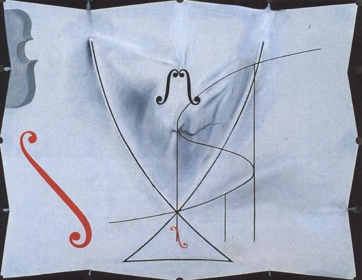 Obras de arte finales de pintores Salvador Dalí, La cola de la golondrina