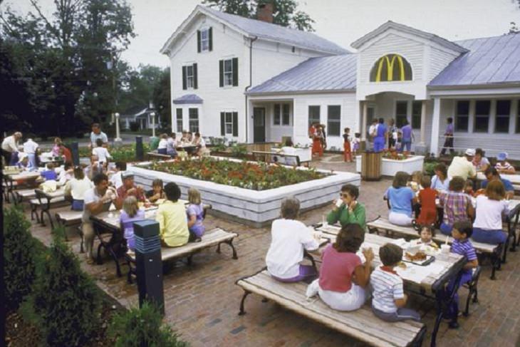 Restaurantes De McDonald's Novedosos Freeport Maine