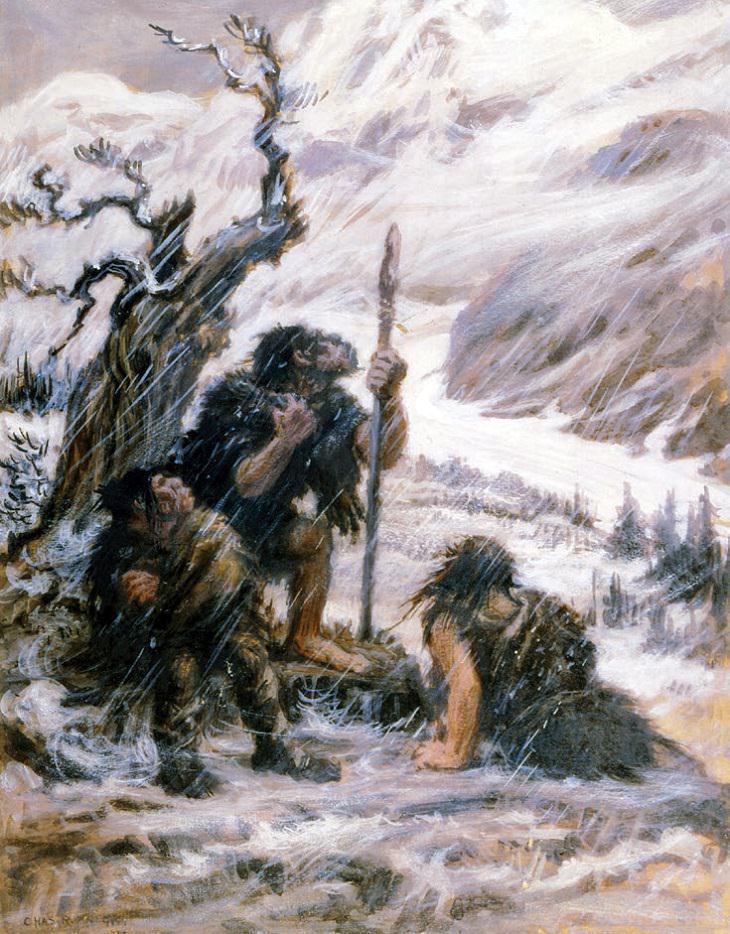 Datos Hombre De Neandertal Los neandertales tenían voces agudas y fuertes