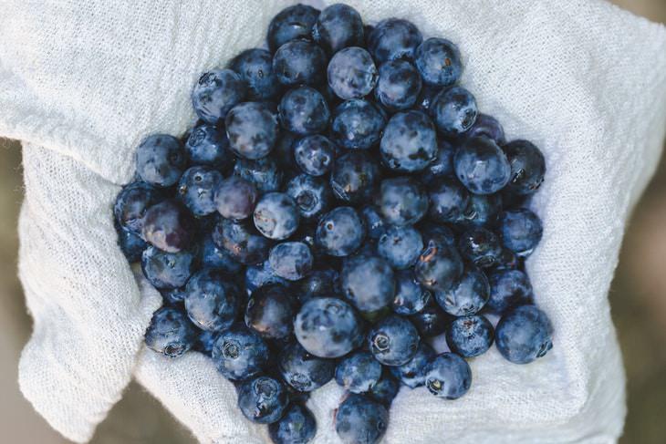 Alimentos Antienvejecimiento Arándanos