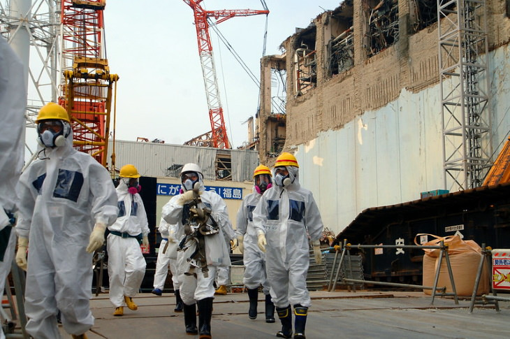 1. Los pensionistas japoneses vuelven a estar de servicio durante las secuelas de Fukushima