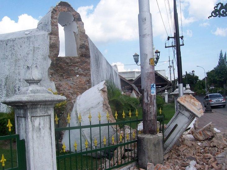 Desastres naturales Terremoto de Yogyakarta, 26 de mayo de 2006